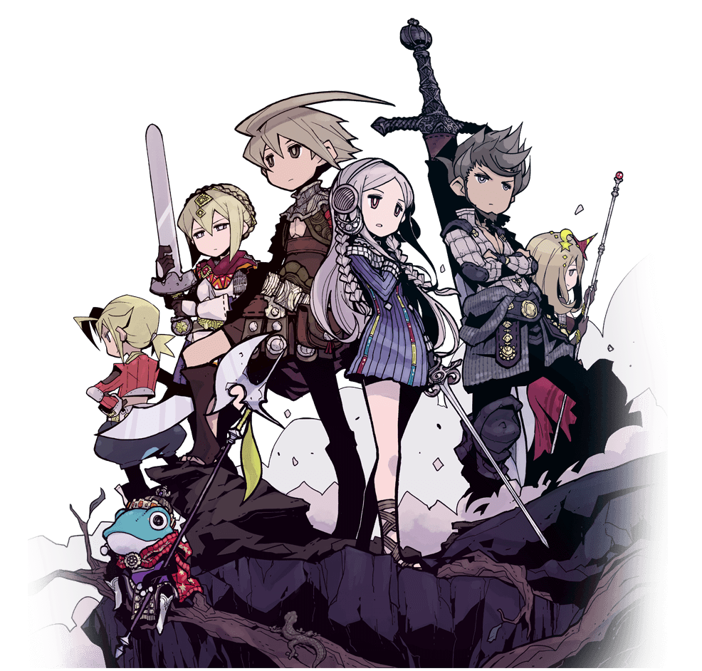 Legend of Legacy characters